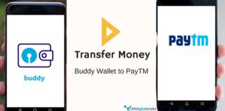 send/transfer sbi buddy money to paytm