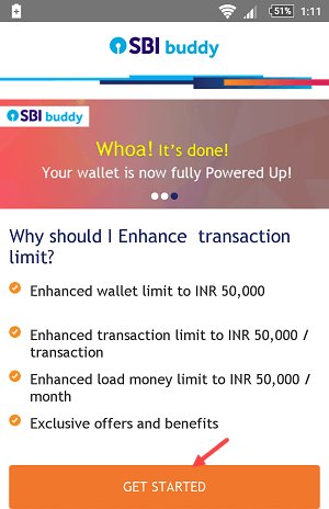 sbi buddy upgrade kyc