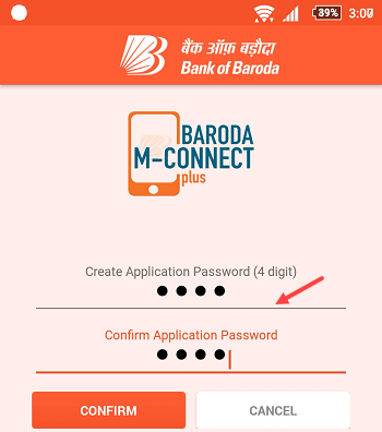 bank of baroda m connect plus registration activation