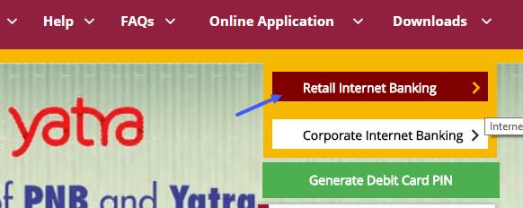 punjab national bank net banking login