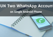 run dual whatsapp android phone