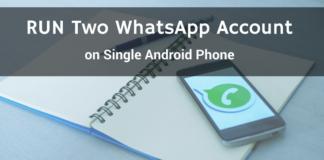 run dual whatsapp android phone