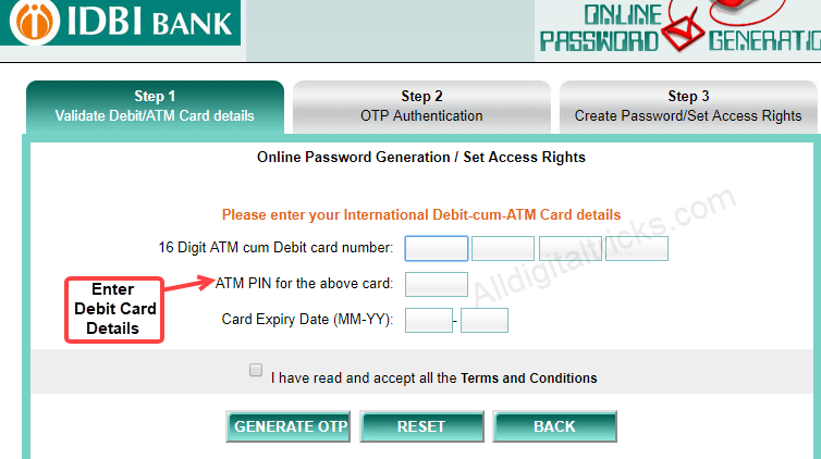 how to activate idbi bank net banking online. Black Bedroom Furniture Sets. Home Design Ideas