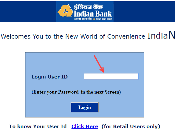 Indian bank net banking registration activation