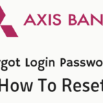 Axis bank net banking forgot password reset online