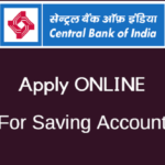 Central bank of India online account open