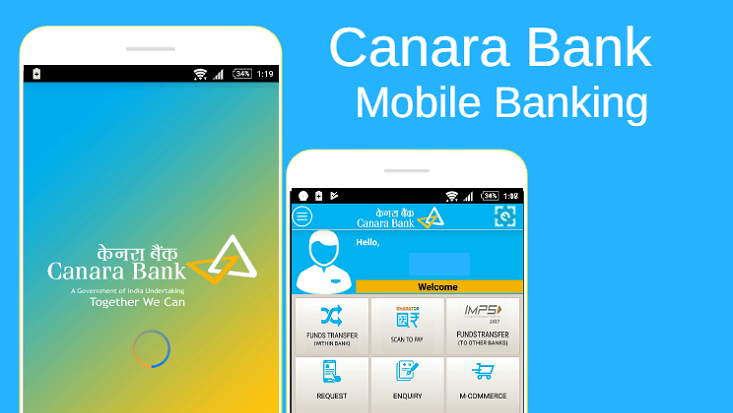 canara bank mobile banking charges