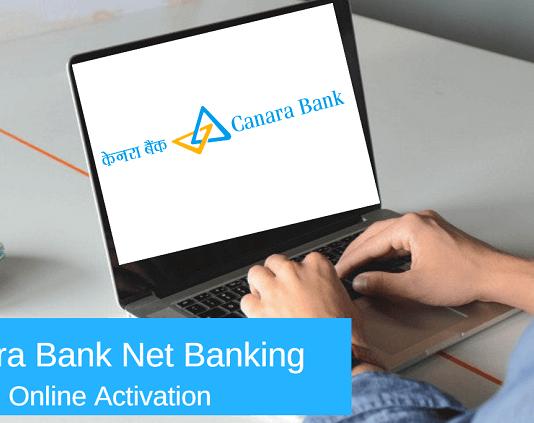 canara bank net banking online activation registration