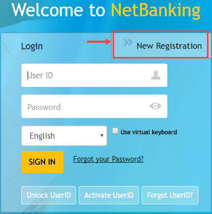 canara net banking activation