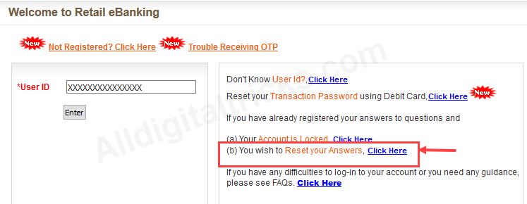 bank of baroda forgot sign on login password net banking