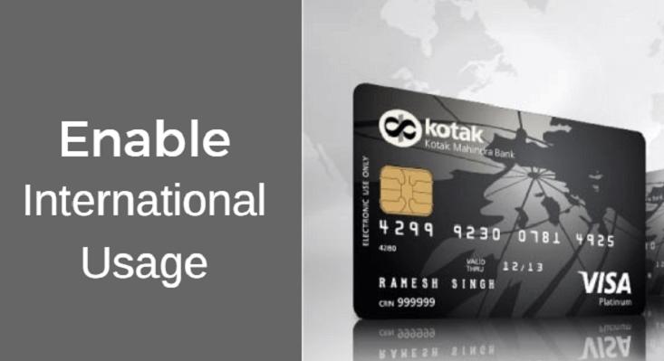 Kotak bank forex card