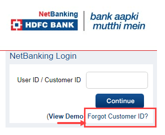 how to change registered mobile number in hdfc online