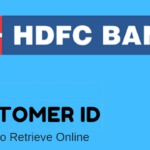 forgot hdfc customer id retrieve online
