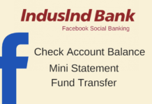 indusind bank facebook banking