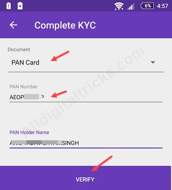 Complete Kyc Online For Phonepe Wallet Alldigitaltricks