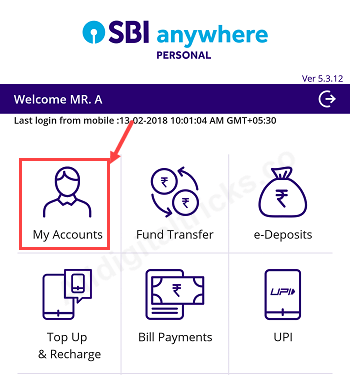 check sbi ppf balance statement online
