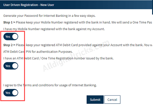 Bandhan Bank Net Banking Online Registration