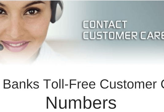 all bank customer care toll free numbers