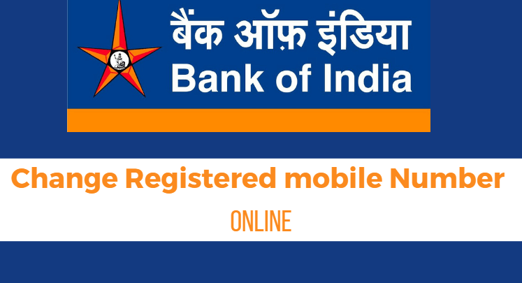 How To Change Update Bank Of India Registered Mobile