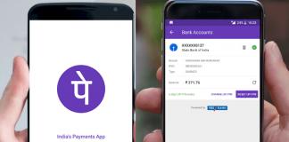 PhonePe Check SBI Account Balance