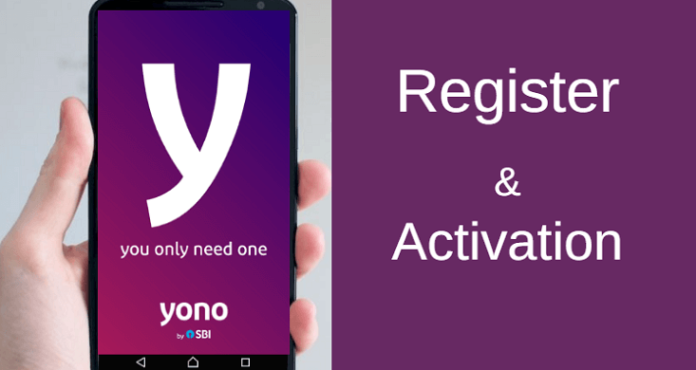 SBI YONO register and activate
