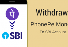 Now drag wallet and drop it on your SBI account. ( see below image)