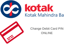 Change Kotak Debit Card PIN Online