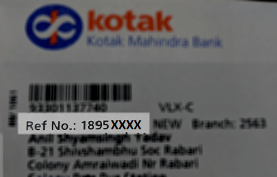 Find CRN Number Kotak Mahindra Bank