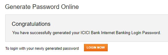 register activate ICICI net banking online