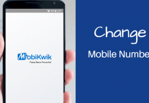 Change mobikwik registered mobile number