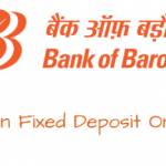 Open Fixed Deposit online Bank of Baroda