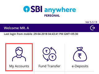 Download SBI account statement PDF format