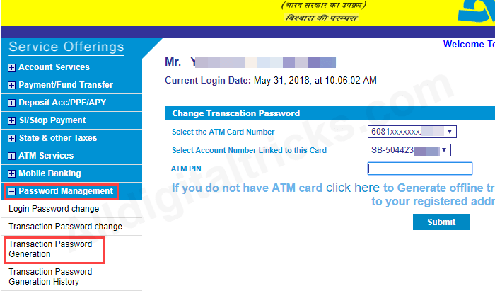 Allahabad bank net banking activate online