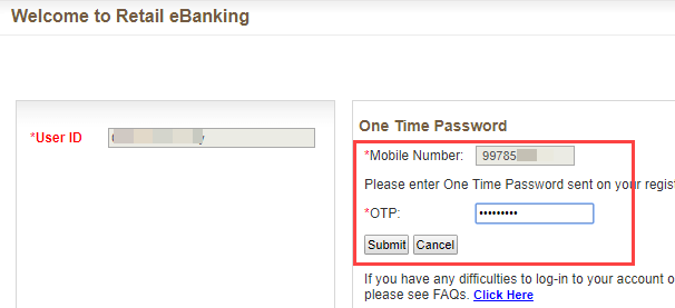 first time login bank of baroda net banking