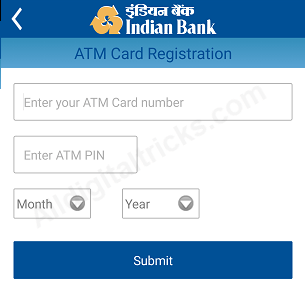Indian bank mobile banking activate register