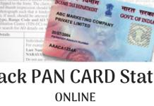 track pan card status online