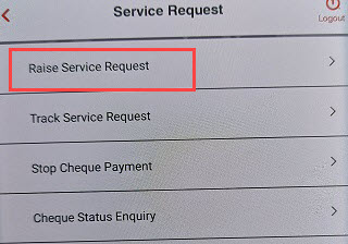 union bank of india service request