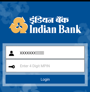 Indian bank mobile banking login