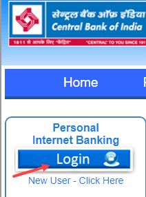Central Bank of India net banking login
