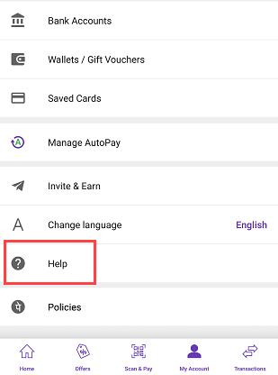 PhonePe contact