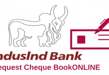 Request Cheque Book Online IndusInd Bank