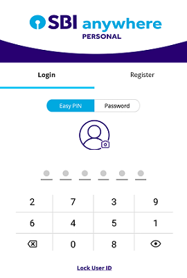 SBI Anywhere login