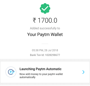 Transfer Money From Paytm Payments Bank To Paytm Wallet