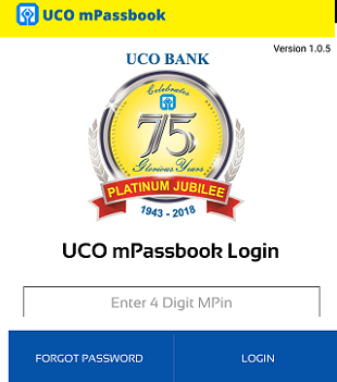 UCO Bank mPassbook login