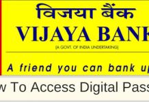 Vijaya Bank e-passbook facility