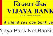 Vijaya Bank net banking activation