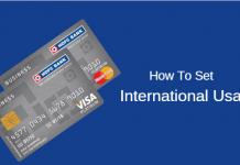 activate International usage HDFC Debit card