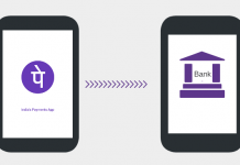 Transfer money PhonePe wallet to Bank