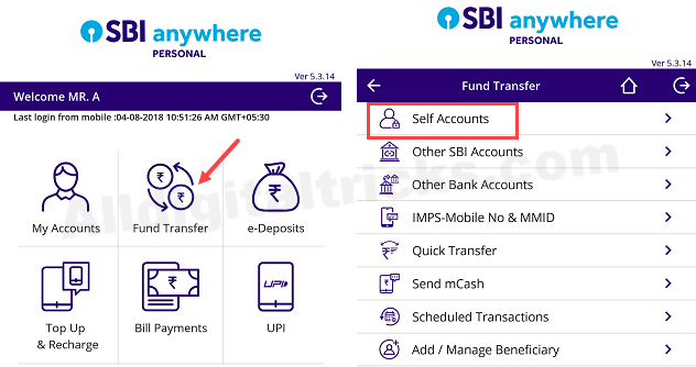 SBI RD Pay monthly installment online