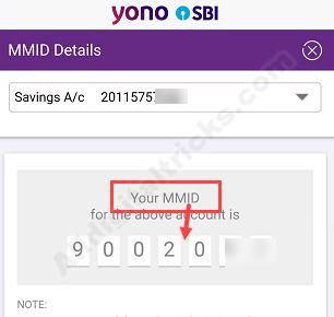 SBI MMID Get Online
